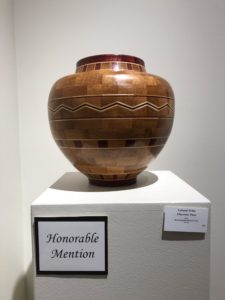 Honorable Mention: Chevron Vase by Leland Fritz
