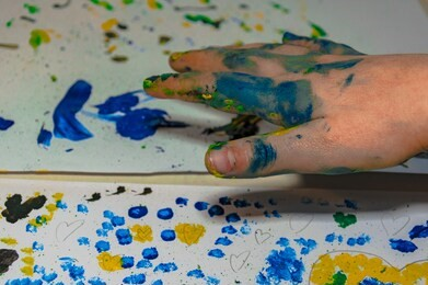 Finger Dot Painting