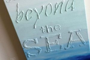 Glue Painting