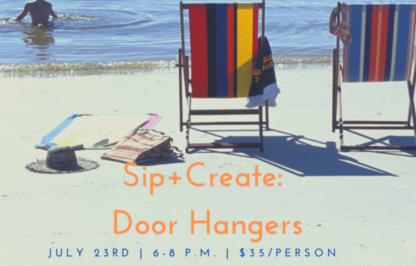 Sip+ Create: Door Hangers